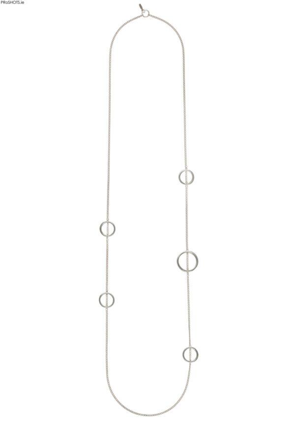 Silver Daisy Chain. Unique Irish designer jewelery, handcrafted.