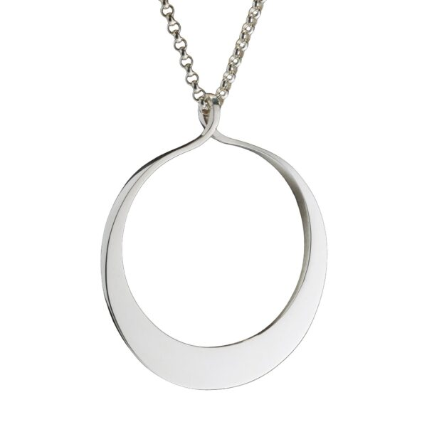 Circle of Dreams Large Silver Pendant