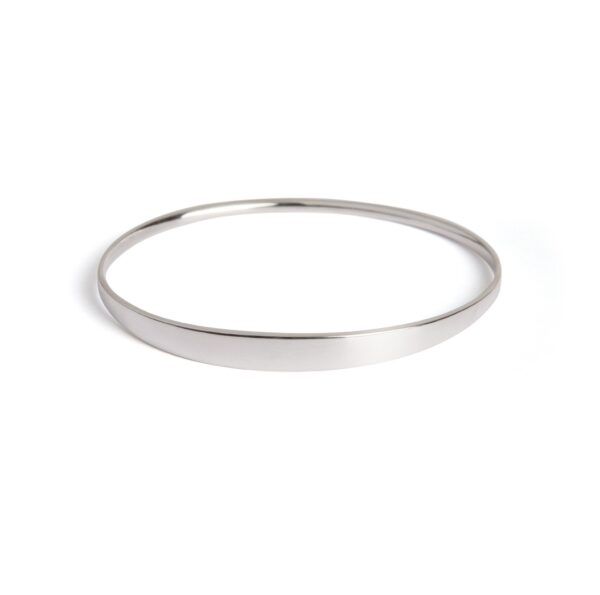 Dream Silver Bangle. Unique designer jewellery handcrafted in Ireland.