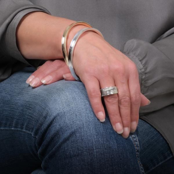 Wave Silver Ring - Maureen Lynch